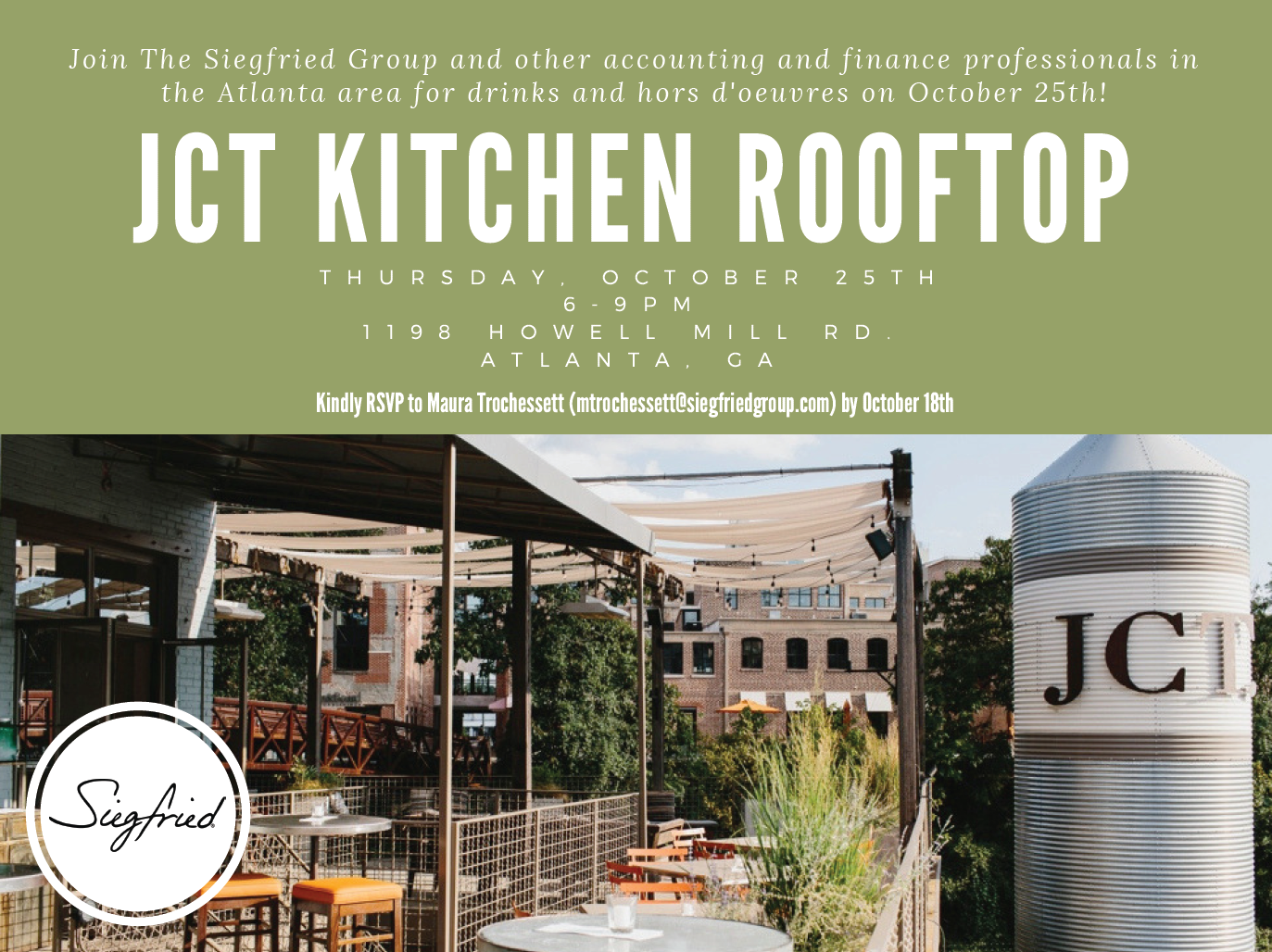 Jct Kitchen Networking Event The Siegfried Group
